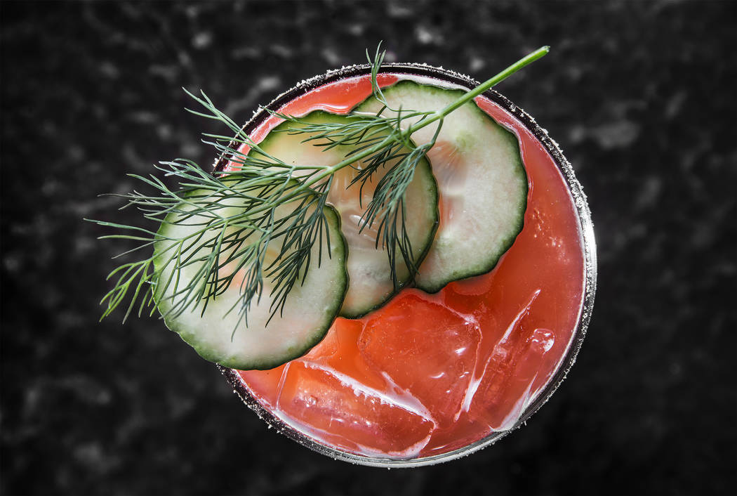 The Dill Weed at Holsteins Shakes and Buns on Tuesday, October 17, 2017, at The Cosmopolitan hotel/casino, in Las Vegas. Benjamin Hager Las Vegas Review-Journal @benjaminhphoto