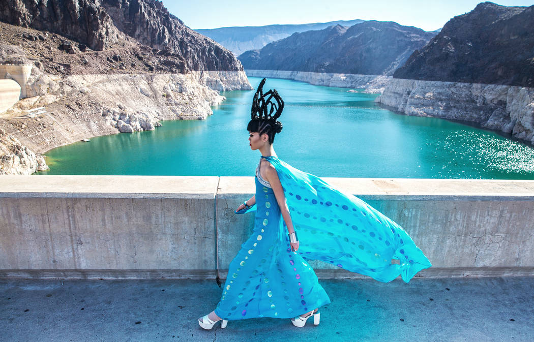 Catwalk producer and model Jessica Minh Anh spearheaded the first ever runway event titled J Summer Fashion Show atop the Hoover Dam on Monday, June 26, 2017, outside Las Vegas. Benjamin Hager Las ...