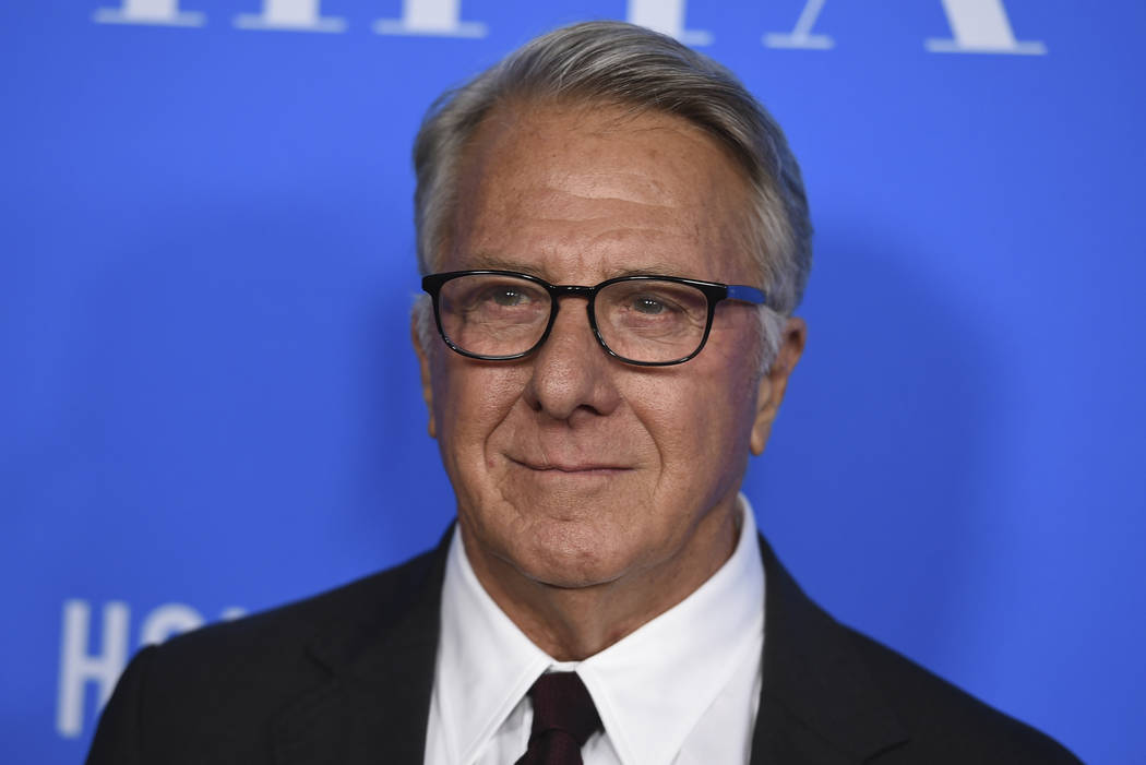 In this Aug. 2, 2017 file photo, Dustin Hoffman arrives at the Hollywood Foreign Press Association Grants Banquet at the Beverly Wilshire Hotel in Beverly Hills, Calif. More women are accusing Hof ...