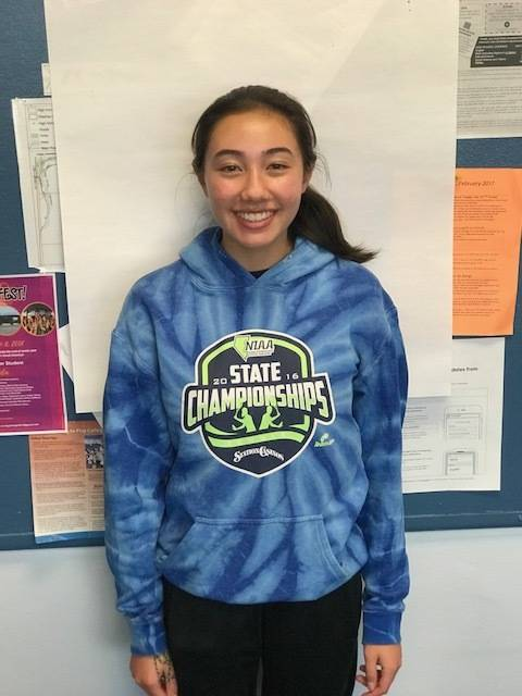 Reno's Erica Schwab is a member of the Las Vegas Review-Journal's all-state girls tennis team.