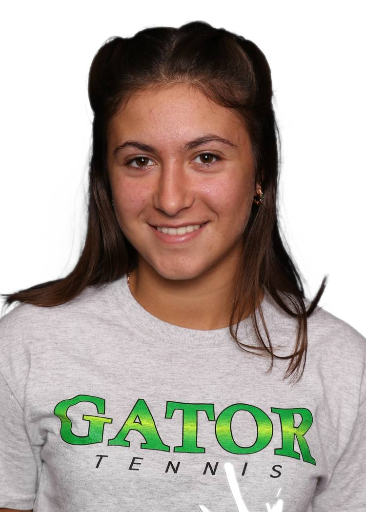 Green Valley's Daria Shalina is a member of the Las Vegas Review-Journal's all-state girls tennis team.