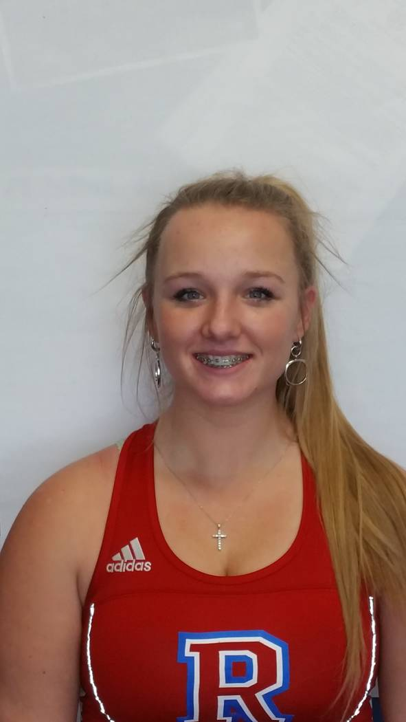 Reno's Sage Schula is a member of the Las Vegas Review-Journal's all-state girls tennis team.
