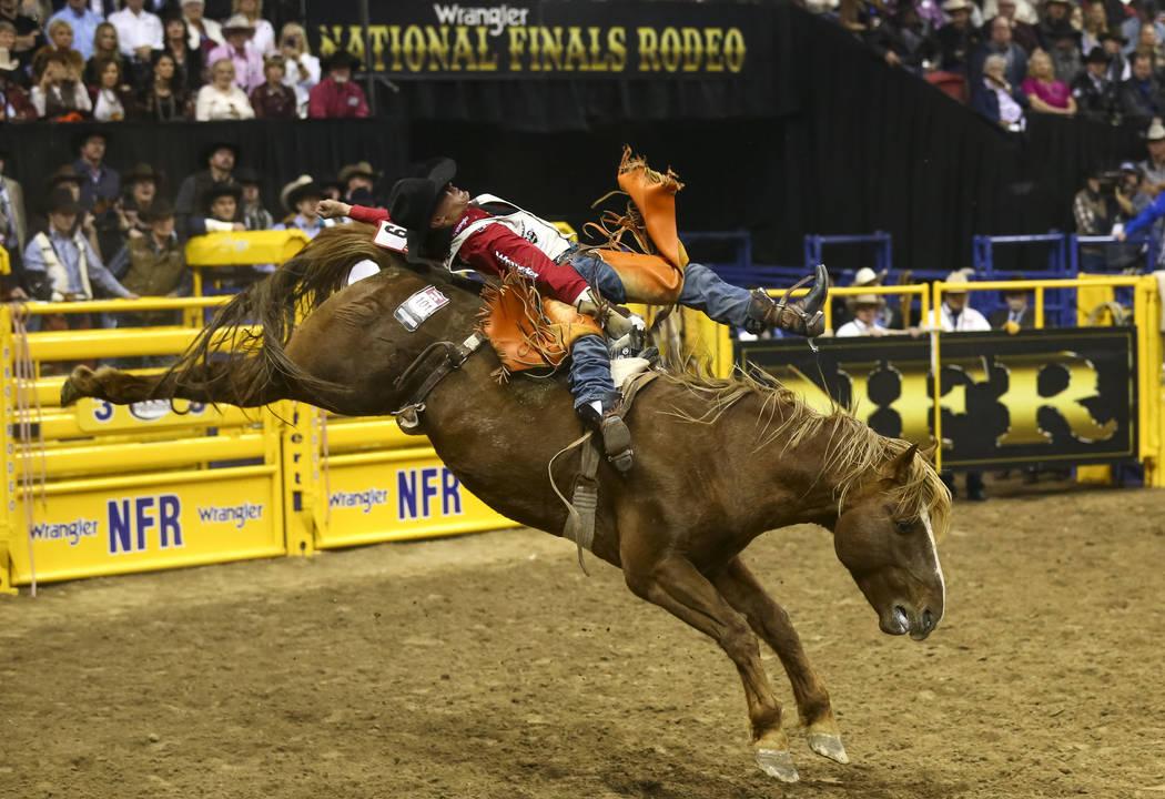 2017 National Finals Rodeo Day 8 Photos Las Vegas
