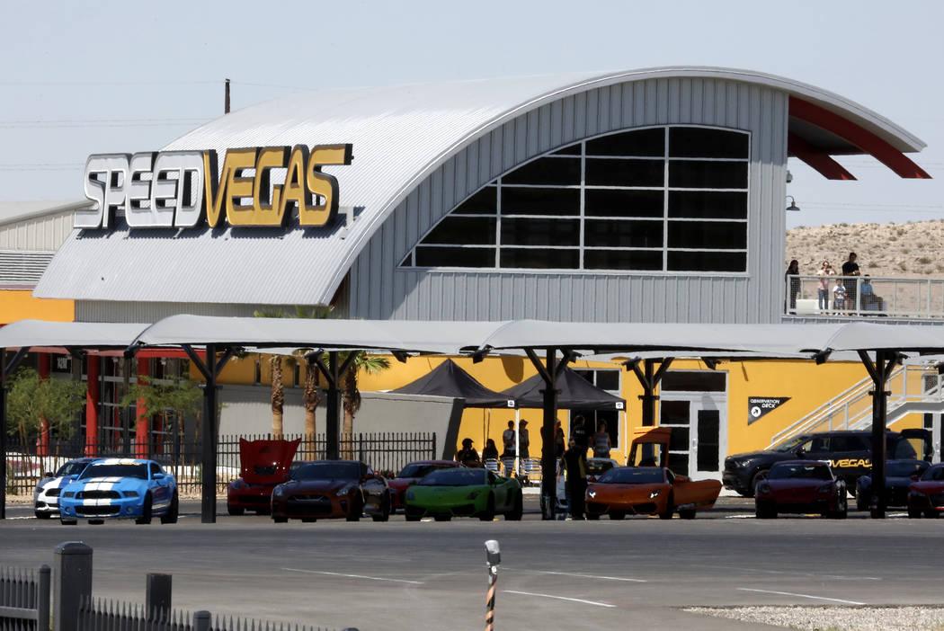 SpeedVegas on 14200 S. Las Vegas Blvd., on Thursday, June 29, 2017. Bizuayehu Tesfaye/Las Vegas Review-Journal @bizutesfaye