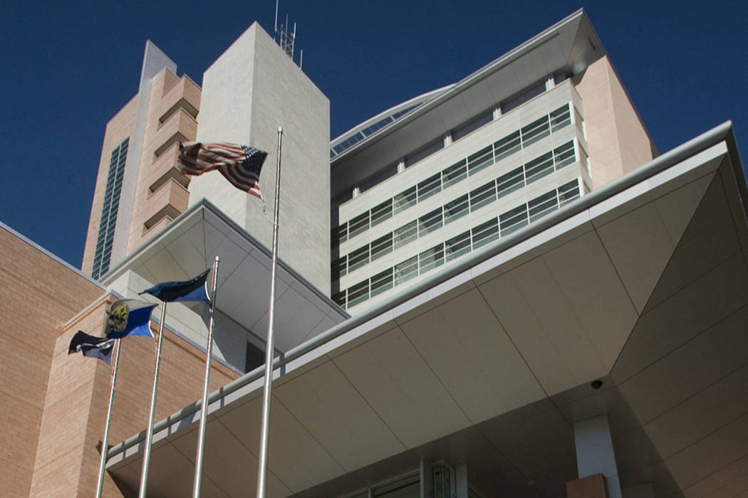 The Regional Justice Center in downtown Las Vegas (Las Vegas Review-Journal)