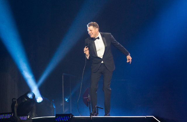 Canadian pop star Michael Buble
