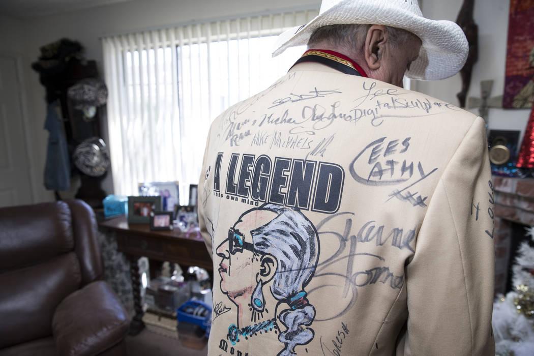 Monti Rock III says self-decorated jackets are his favorite fashion accessory. Erik Verduzco Las Vegas Review-Journal @Erik_Verduzco