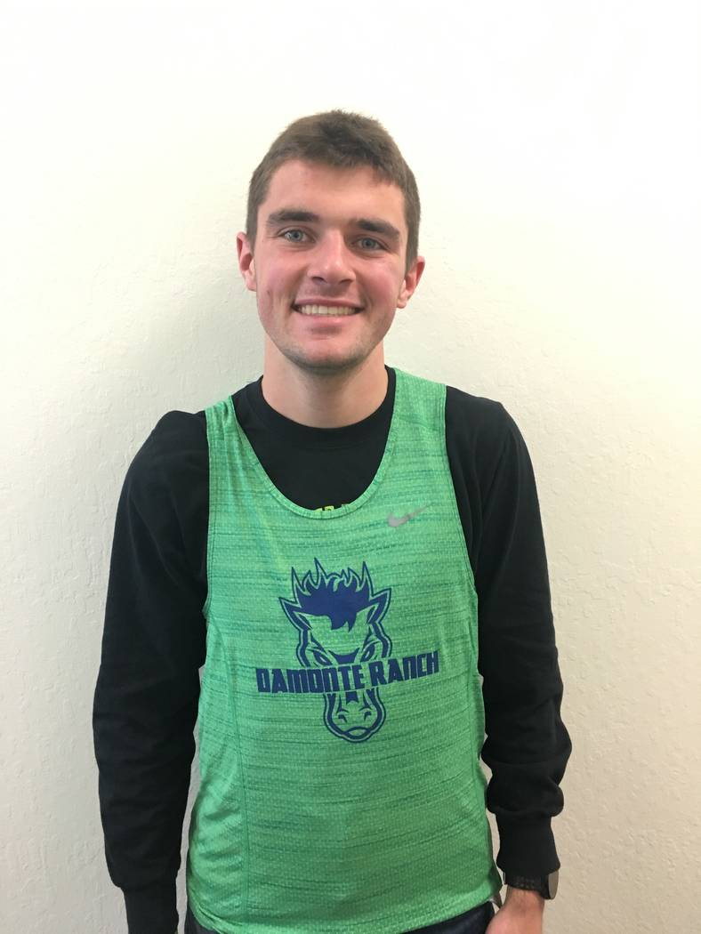 Damonte Ranch's Aric Turner is a member of the Review-Journal's all-state boys cross country team.