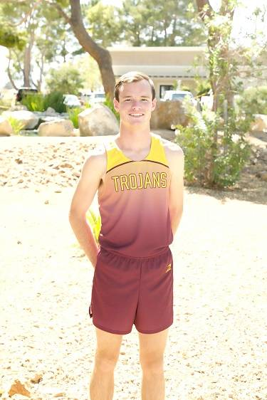 Pahrump Valley's Bryce Odegard is a member of the Review-Journal's all-state boys cross country team.