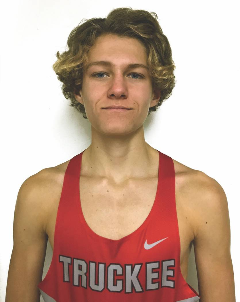 Truckee's Montana Montgomery is a member of the Review-Journal's all-state boys cross country team.