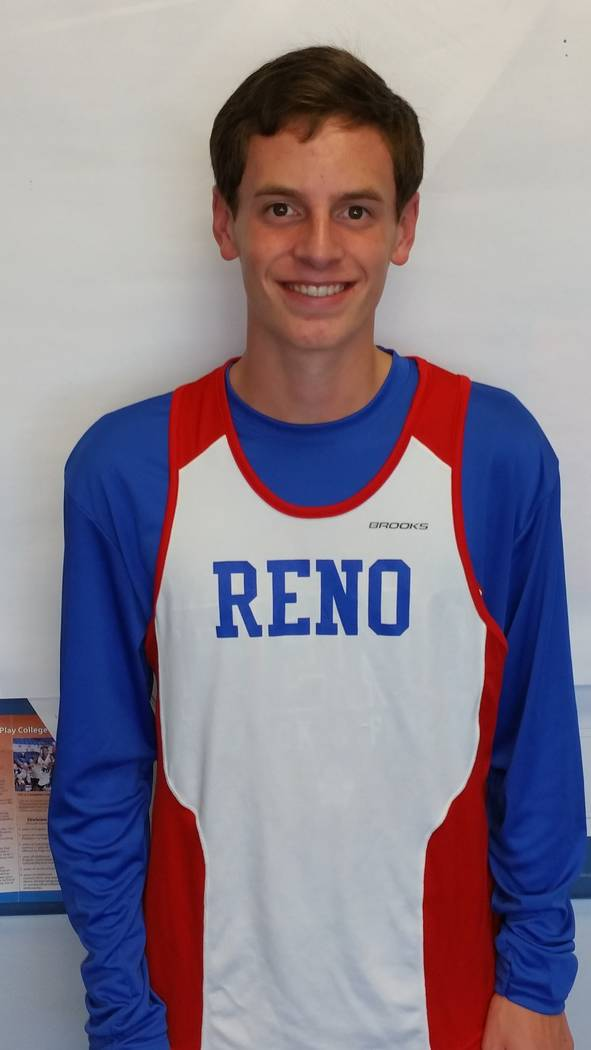 Reno's Nicholas McMillen is a member of the Las Vegas Review-Journal's all-state boys cross country team.