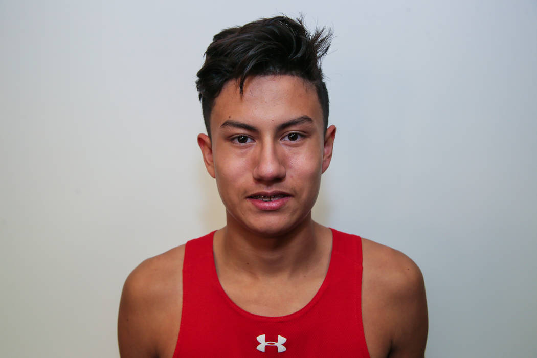 Arbor View's Noah Ayala is a member of the Review-Journal's all-state boys cross country team.