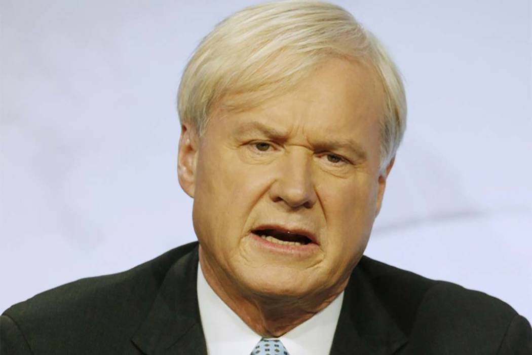 Chris Matthews (Fred Prouser/Reuters)