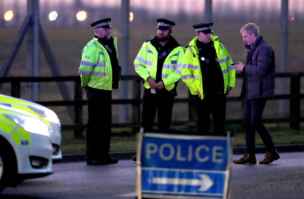 Shots fired at USA base in England