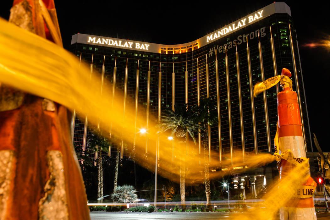 The Mandalay Bay in Las Vegas, Tuesday, Nov. 7, 2017. Joel Angel Juarez Las Vegas Review-Journal @jajuarezphoto