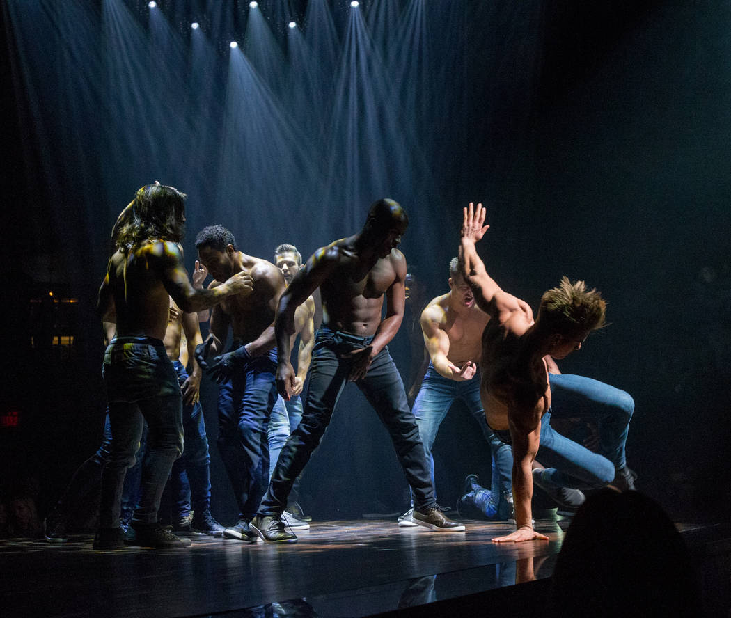 "The grand opening of ""Magic Mike Live"" at The Hard Rock Hotel on Friday, April 21, 2017, in Las Vegas. (Erik Kabik)"