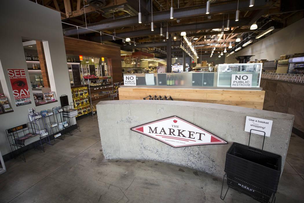The Market Tuesday, Dec. 19, 2017, in downtown Las Vegas. Richard Brian Las Vegas Review-Journal @vegasphotograph