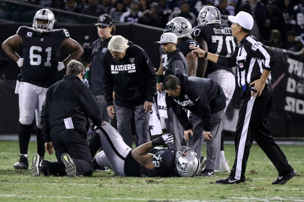 Oakland Raiders OT Donald Penn will undergo surgery, snaps streak of starts