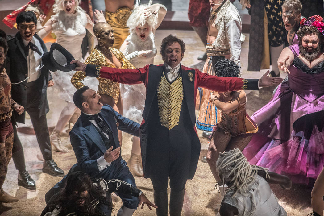 "P.T. Barnum (Hugh Jackman) comes alive with the oddities in Twentieth Century Fox's ""The Greatest Showman."""