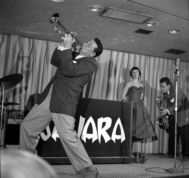 Louis Prima and Keely Smith perform at the Sahara in 1956. Courtesy photo