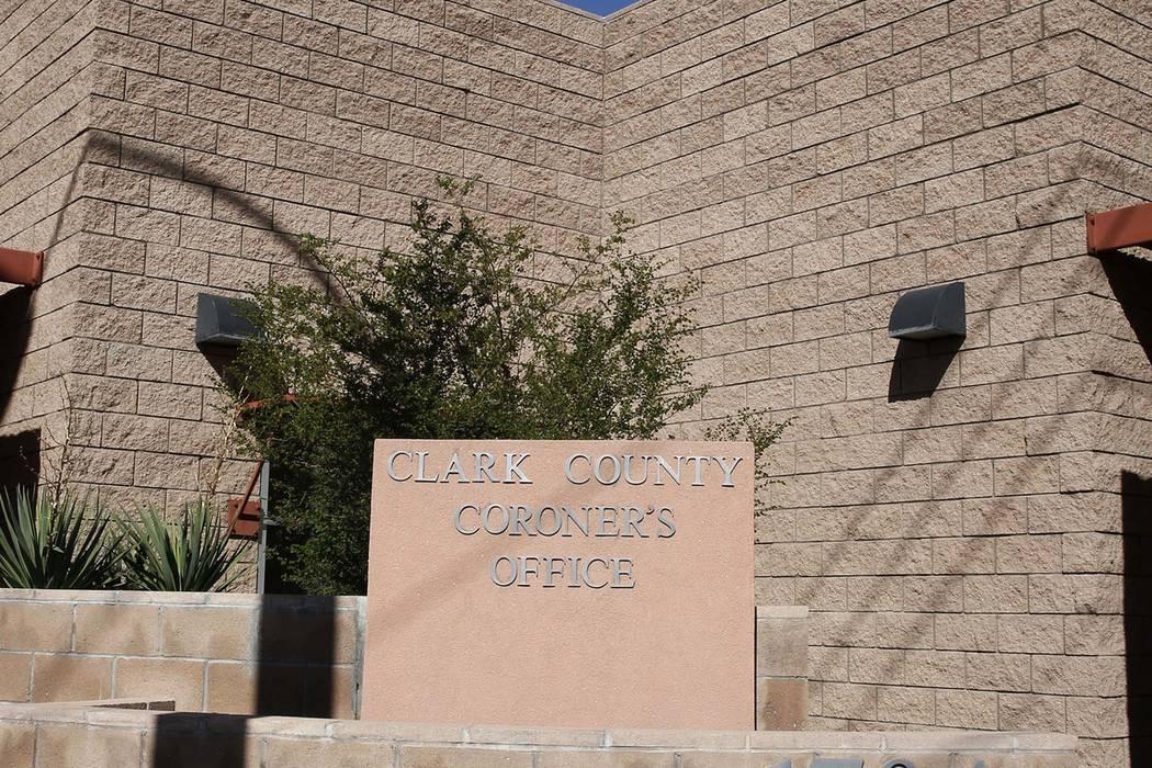 The Clark County Coroner and Medical Examiner office. Bizuayehu Tesfaye Las Vegas Review-Journal @bizutesfaye