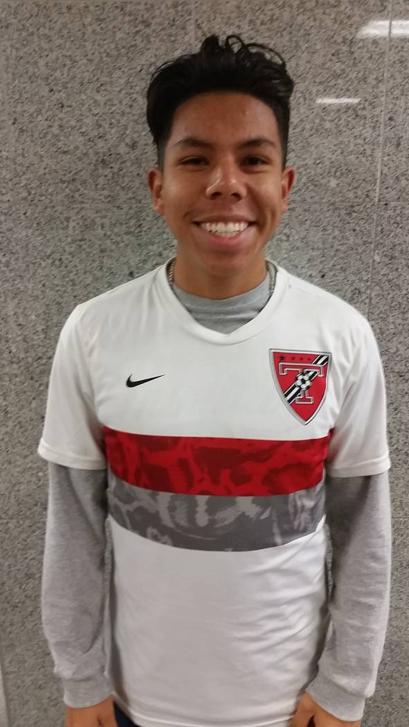 Truckee's Abi Lopez is a member of the Las Vegas Review-Journal's all-state boys soccer team.