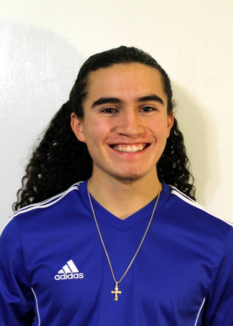Carson's Christian Martinez is a member of the Las Vegas Review-Journal's all-state boys soccer team.