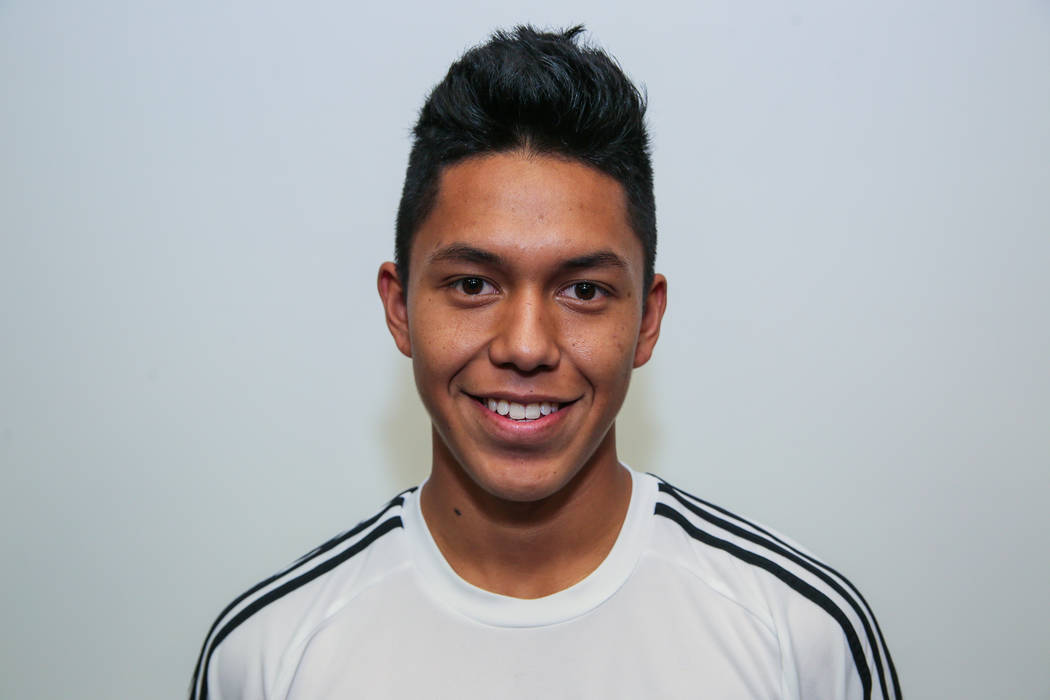 Desert Pines' Joel Sanchez is a member of the Las Vegas Review-Journal's all-state boys soccer team.