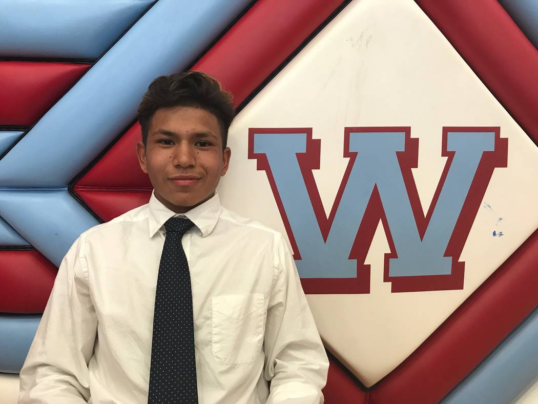 Western's Juan Arredondo-Alvarez is a member of the Las Vegas Review-Journal's all-state boys soccer team.