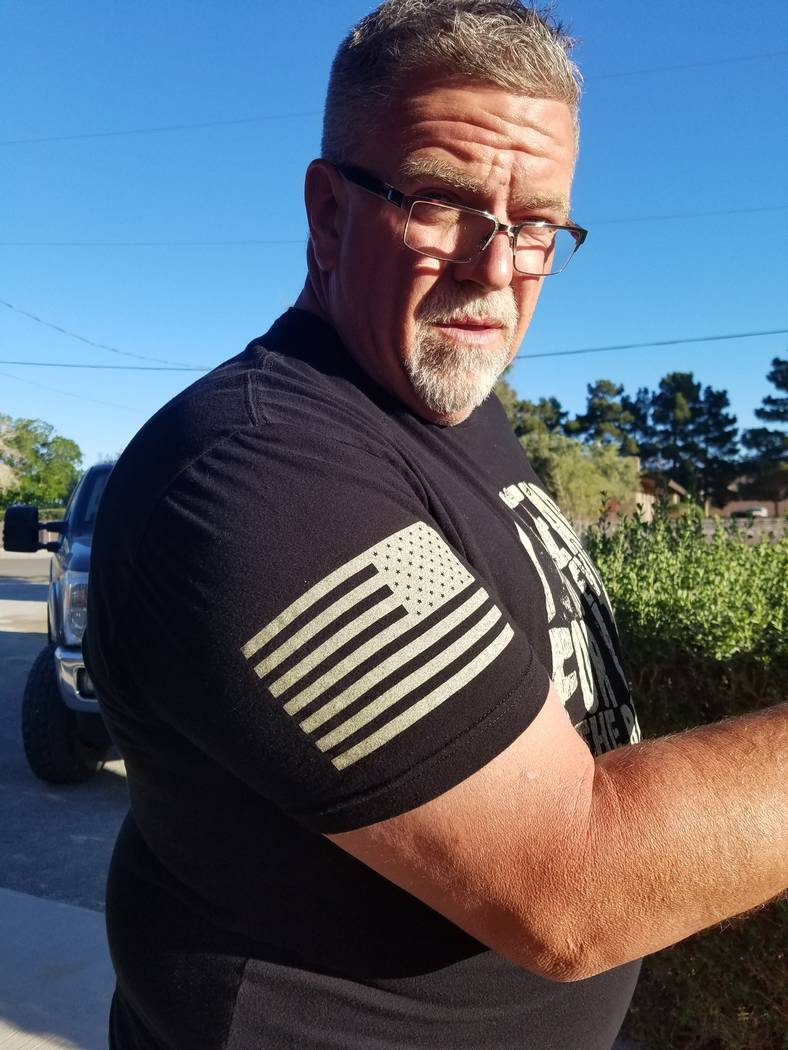 These days, the 6-foot-tall, 290-pound Bill Trumble is packed with muscle as he loses weight to his goal of 250 pounds. He once tipped the scales at 525 pounds. (Trumble/SPECIAL)