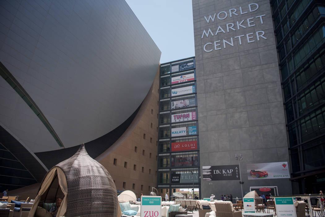 Las Vegas Market at World Market Center patio on Tuesday, Aug. 1, 2017, in Las Vegas. Morgan Lieberman Las Vegas Review-Journal