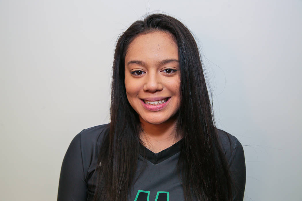 Palo Verde's Arien Fafard is a member of the Las Vegas Review-Journal's all-state girls volleyball team.