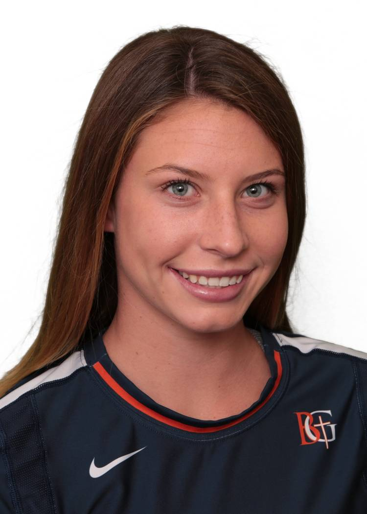 Bishop Gorman's Tommi Stockham is a member of the Las Vegas Review-Journal's all-state girls volleyball team.