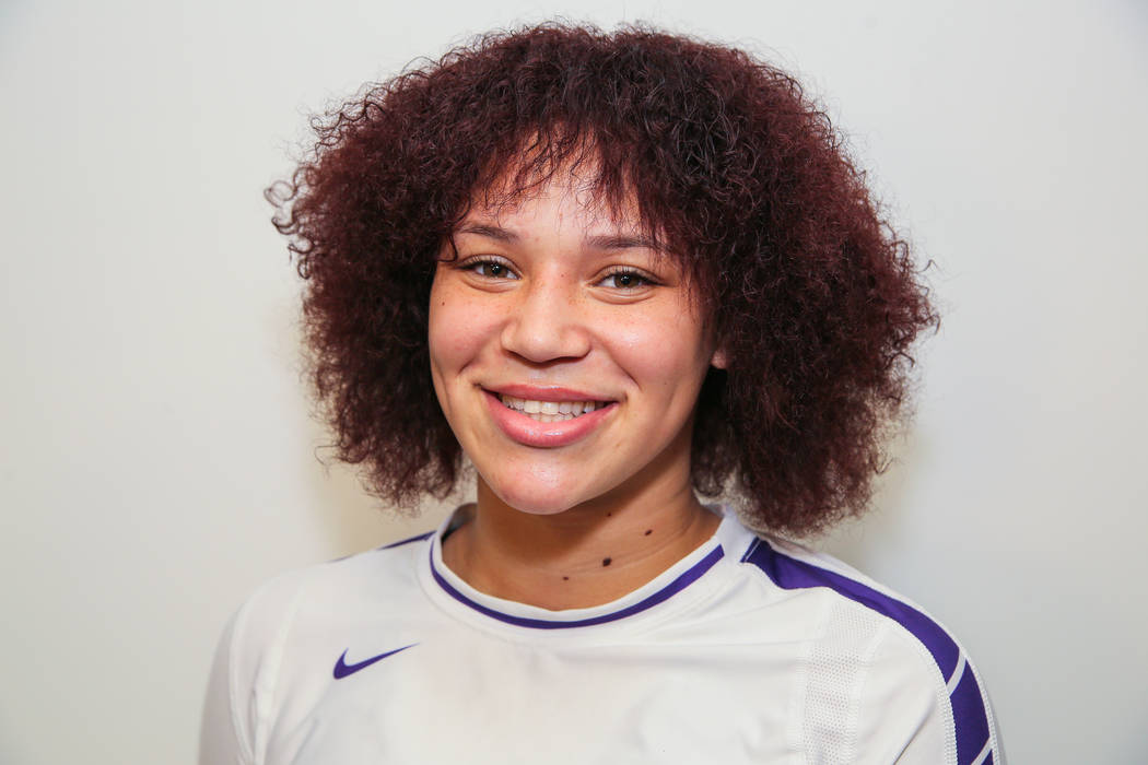 Durango's Naomi Harris is a member of the Las Vegas Review-Journal's all-state girls volleyball team.