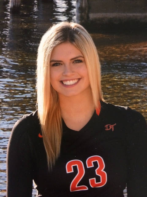 Douglas' Talyn Jackson is a member of the Las Vegas Review-Journal's all-state girls volleyball team.