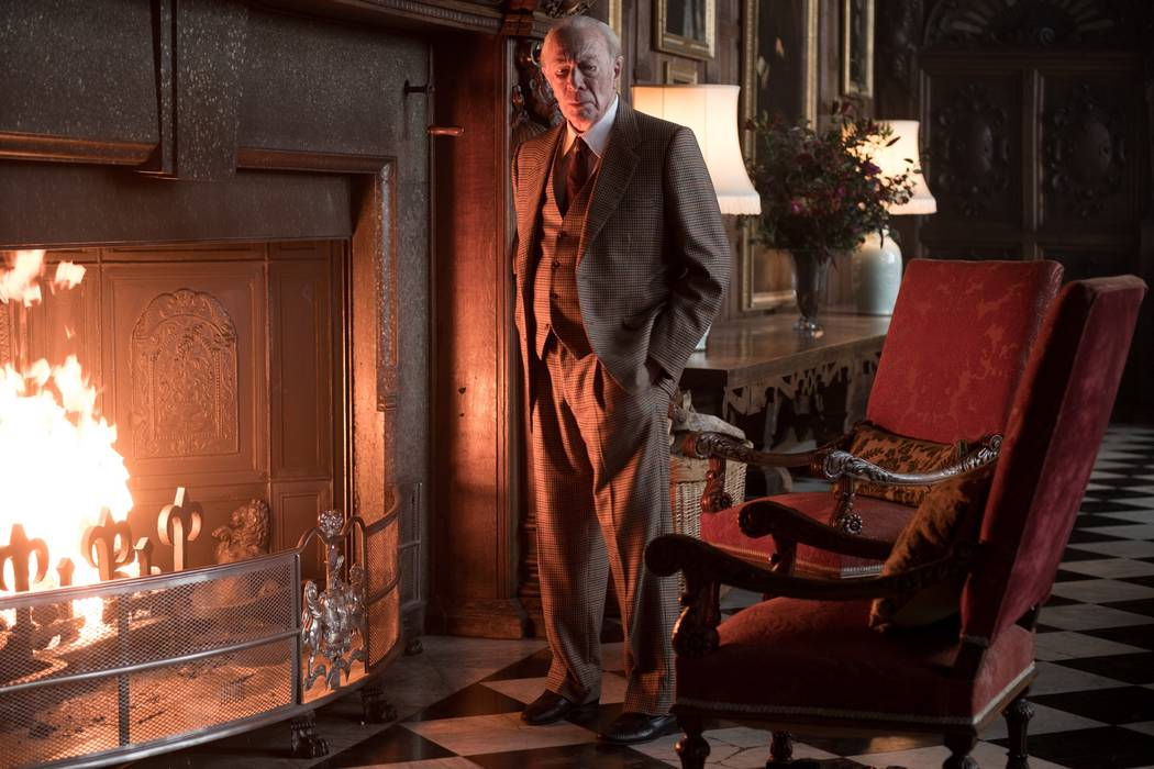 Christopher Plummer is J. Paul Getty in TriStar Pictures' ALL THE MONEY IN THE WORLD.  Photo Credit: Giles Keyte, ©2017 ALL THE MONEY US, LLC.