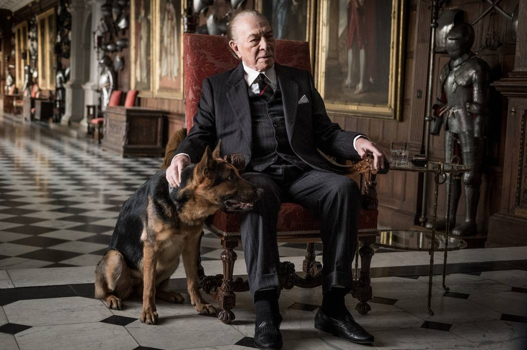 """Christopher Plummer is J. Paul Getty in TriStar Pictures' """"All The Money in The World."""" Giles Keyte, ©2017 ALL THE MONEY US, LLC. ALL RIGHTS RESERVED."""