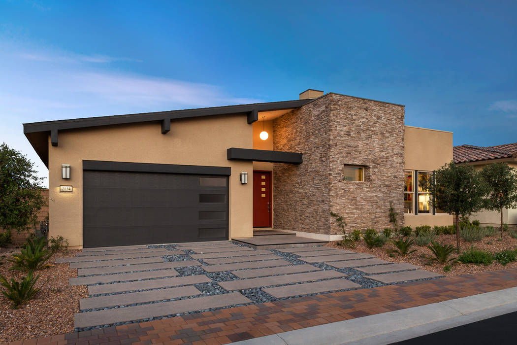 Pardee Homes is selling the final homes at Montero in Inspirada, including the Plan 1-CR model. (Pardee Homes)