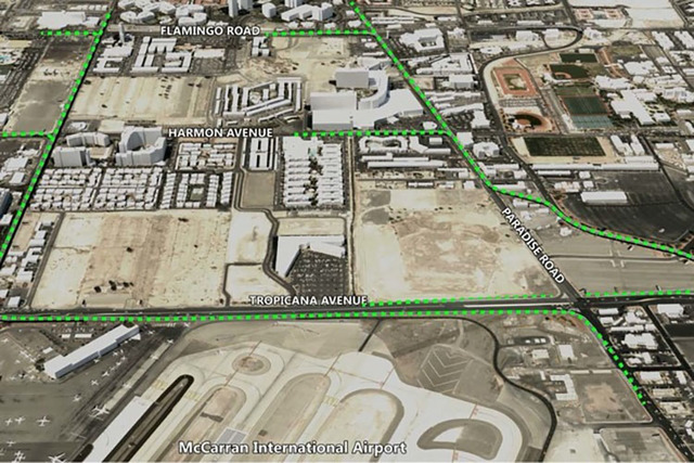 Expressway plan to McCarran International Airport (Clark County)