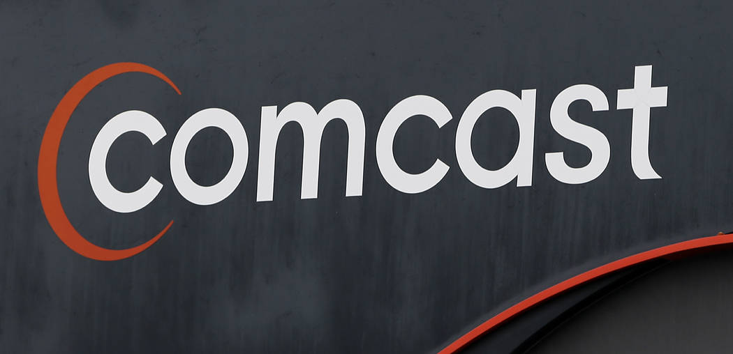 "A Comcast sign in Hialeah, Fla., Oct. 12, 2017. Now that federal telecom regulators have repealed net neutrality, it may be time to brace for the arrival of internet ""fast lanes"" and ""slow l ..."