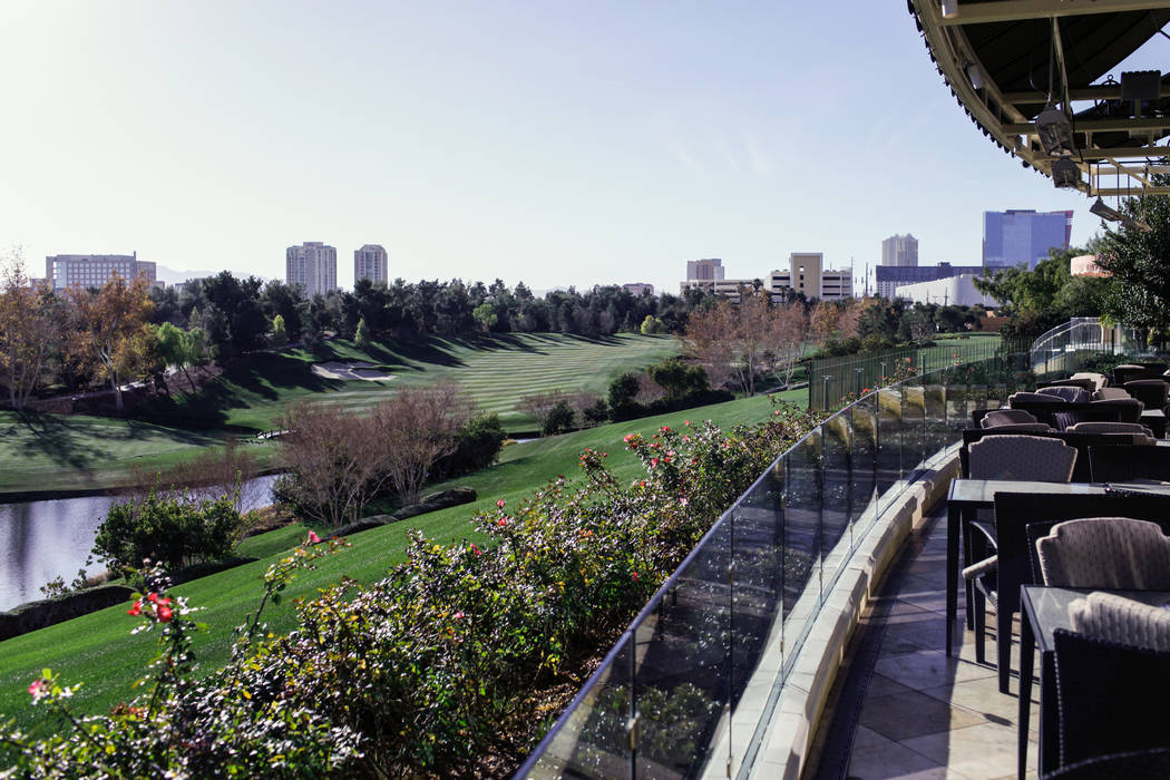 The Wynn Country Clubin Las Vegas, Friday, Dec. 22, 2017. The golf course is shutting down on Dec. 23 and will be replaced with Paradise Park, a lagoon-themed attraction. Joel Angel Juarez L ...