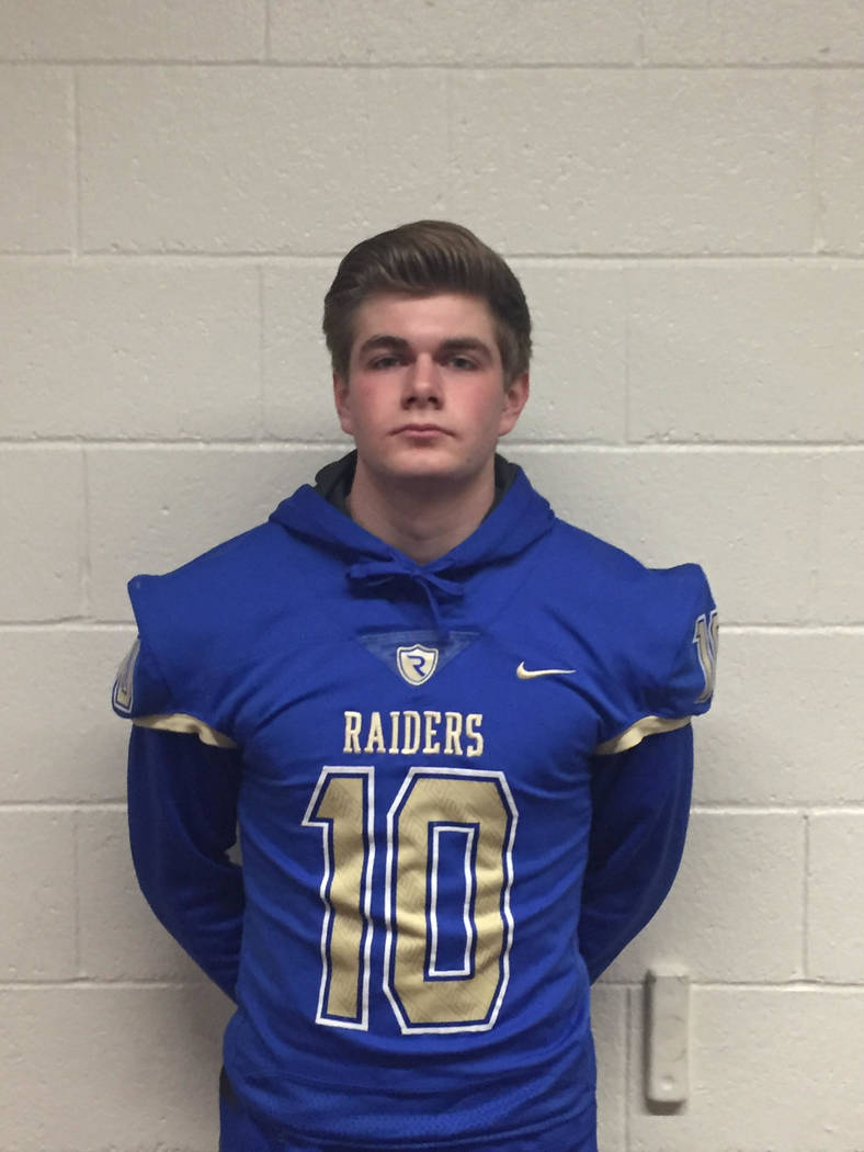 Reed's Cameron Emerson is a member of the Las Vegas Review-Journal's all-state football team.