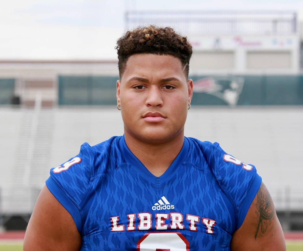 Liberty's Crishaun Lappin is a member of the Las Vegas Review-Journal's all-state football team.