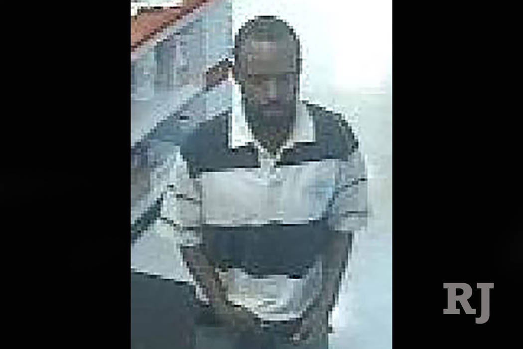 Suspect in robbery of east valley convenience store (Las Vegas Metropolitan Police Department)