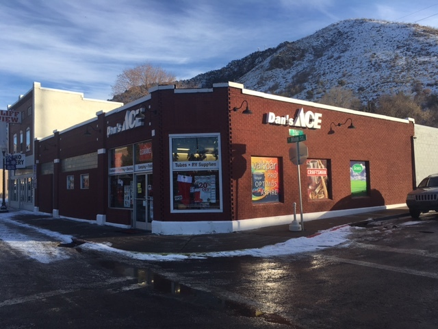The town's first franchised business, Ace hardware, opened in December 2013, in Lava Hot Springs, Idaho. (John Katsilometes/Las Vegas Review-Journal)