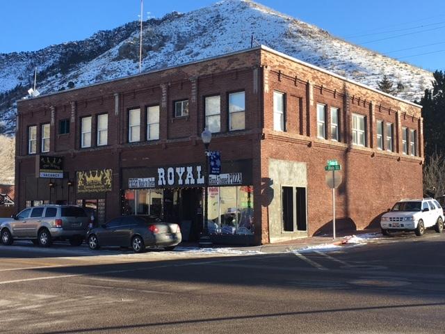 The Royal Inn, on the corner of Center and Main in Lava Hot Springs, Idaho. (John Katsilometes/Las Vegas Review-Journal)
