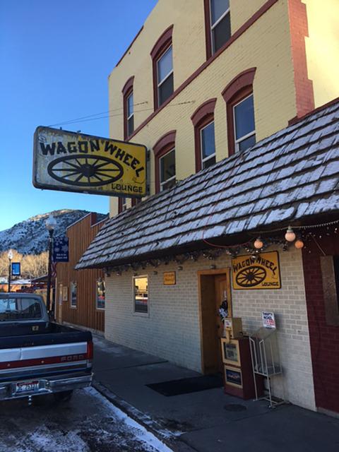 The Wagon Wheel saloon in Lava Hot Springs, Idaho. (John Katsilometes/Las Vegas Review-Journal)