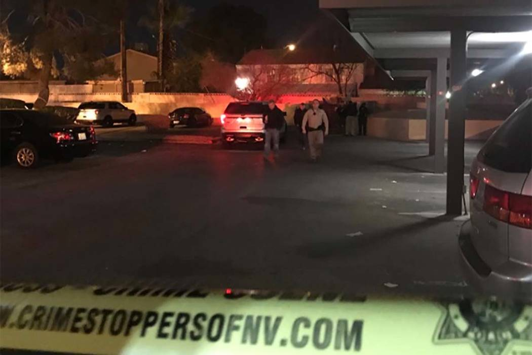 Homicide detectives will be investigating throughout the Christmas holiday the death of a woman, who was found in a dumpster Sunday in the 1700 block of East Viking Road, near Maryland Parkway and ...