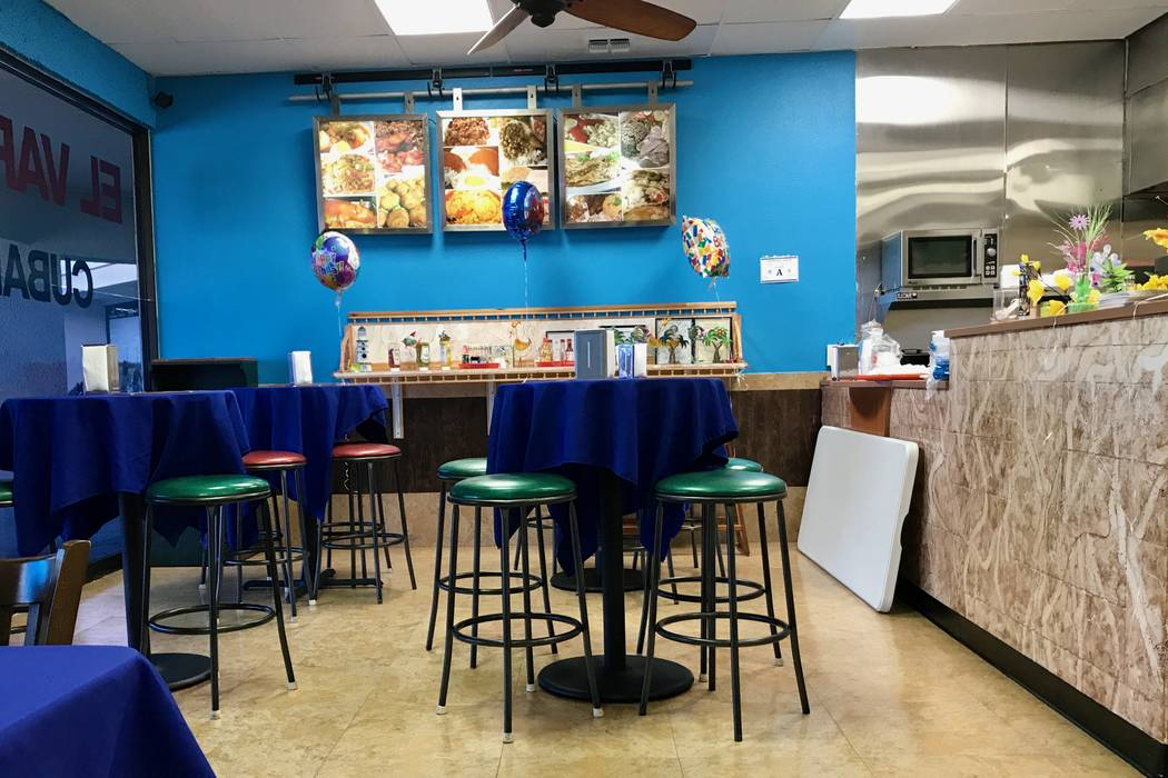 El Varaderito, a new Cuban restaurant in the southwest valley, opened in June. (Madelyn Reese/View) @MadelynGReese