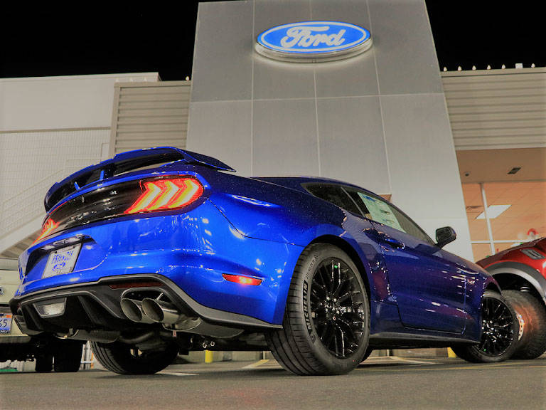 Friendly Ford The 2018 Ford Mustang was featured at a special ceremony recently at Friendly Ford at 660 N. Decatur Blvd.